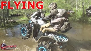 Well we have some fun at Johnsons hole then I have to tow the wife back to camp!! Crazy fun in Canada! Thanks for watching and please subscribe for more atv madness! Check out AULTimate outdoors on facebook: https://www.facebook.com/AULTimate-Outdoors-266193533452138/And join the facebook group AULTimate ATV Addiction: https://www.facebook.com/groups/AULTimateATVAddiction/ATV Tire Rack for all your atv needs: https://www.facebook.com/AtvTireRack/CST Tires: http://www.csttires.com/us/Big Belly Gripz: https://www.bigbellygripz.com/SPOP skid plates: http://www.spop.se/shop/index.php