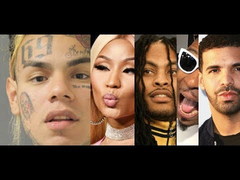 6IX9INE and Nicki Minaj Song Coming Soon? Waka Flocka Fabo, Youtuber's Concert FALSE PROMOTES DRAKE