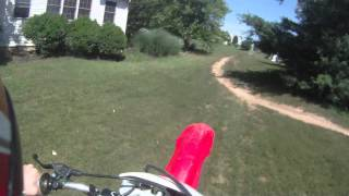 5. 2005 CRF150F - Backyard Track