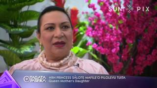 The Queen Mother, Halaevalu Mata'aho celebrated her 90th birthday recently in Tonga. John Pulu with the story...