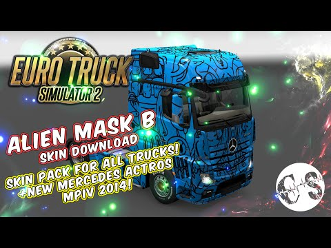 Alien Mask B Skin Pack for All Trucks