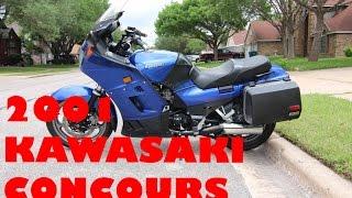 2. 2001 Kawasaki Concours Review