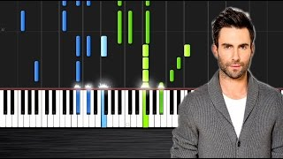 R. City - Locked Away ft. Adam Levine - Piano Cover/Tutorial  Ноты и М�Д� (MIDI) можем выслать Вам (
