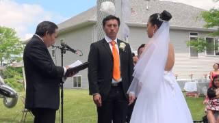 Steven Lee and Amamda Vang's Wedding June 6 2015