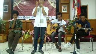 Bondit feat. Algho And Friend @ FIS UNY - Sesungguhnya (Ungu Cover)