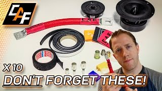 Video Installing Car Audio? 10 CHEAP things to have FOR EVERY BUILD! MP3, 3GP, MP4, WEBM, AVI, FLV Desember 2018