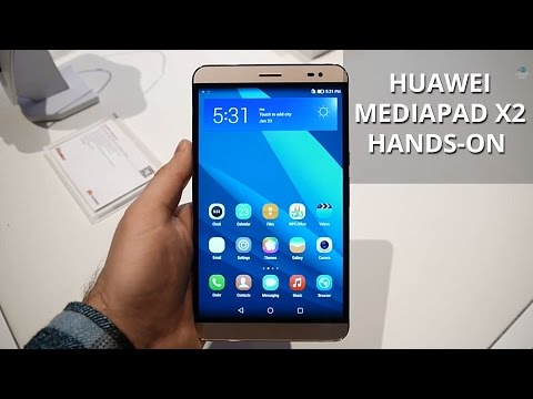 Huawei MediaPad X2 hands-on