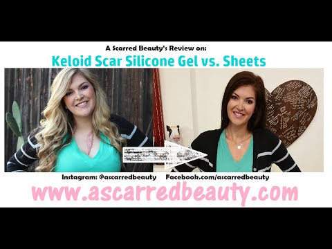 A Scarred Beauty Reviews: Keloid Scar Silicone Gel vs. Sheets