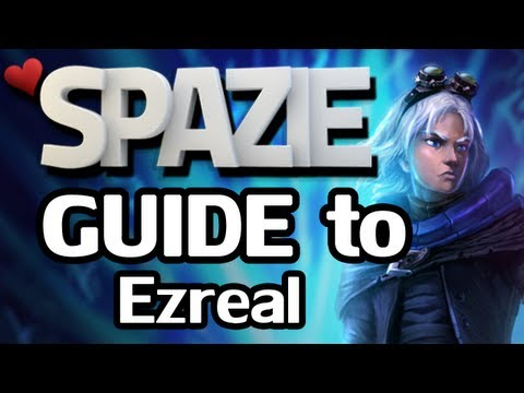 ezreal build - Spazie's guide to Ezreal --------------------------------------------- How to play Ezreal, the awesome arcane-shifting champion of banana-ultimate epicossi...