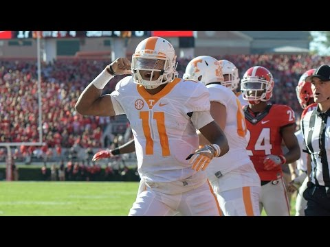 Tennessee Hail Mary Stuns Georgia In Athens | CampusInsiders (видео)