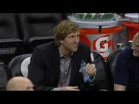 Dirk Nowitzki has a drinking problem
