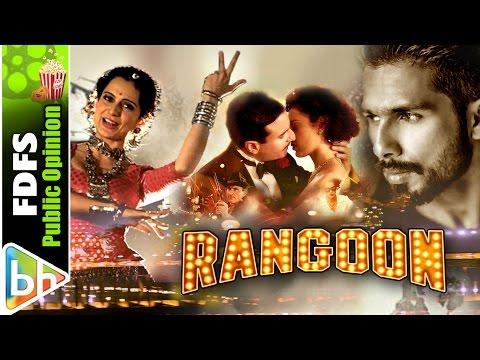 Rangoon | Public Review | Shahid Kapoor | Kangana