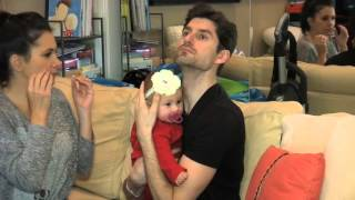 Ben Aaron Preps For His Baby...By Babysitting...A Baby