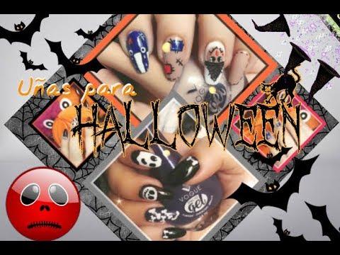 Decoracion de uñas Halloween