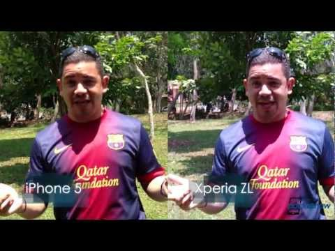 how to use xperia zl camera