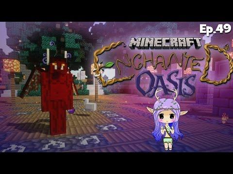 """DEMON HUNTER"" Minecraft Enchanted Oasis Ep 49"