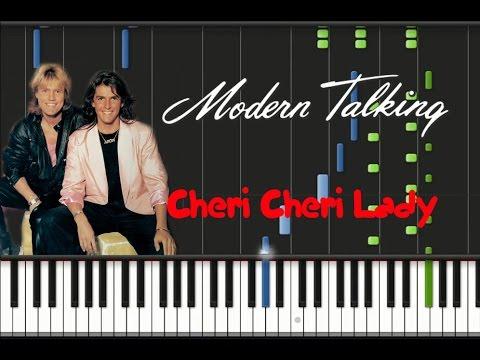 Modern Talking – Cheri Cheri Lady [Synthesia Tutorial]