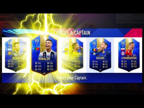 INSANE DRAFT! HIGHEST RATED TOTS DRAFT CHALLENGE! - FIFA 19 Ultimate Team