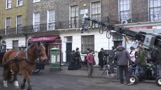 Making Victorian London - Sherlock: The Abominable Bride - BBC One