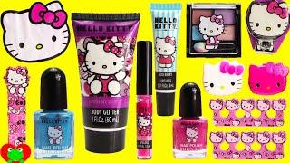 Video Hello Kitty MEGA Cosmetics Set and Surprises MP3, 3GP, MP4, WEBM, AVI, FLV September 2018