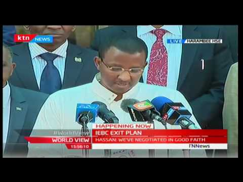 IEBC EXIT PLAN: Issack Hassan's big revelation ahead of his exit from poll body