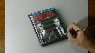 Drawing a Blu-ray box of SUITS stagione 3