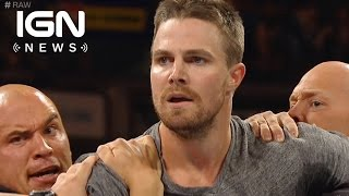 It's Arrow's Stephen Amell vs Stardust at WWE SummerSlam - IGN News
