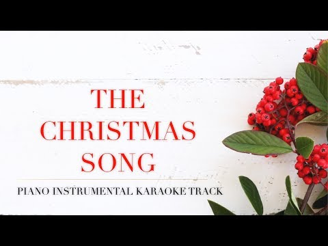 The Christmas Song (Piano Instrumental Karaoke Track)