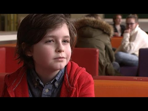 9χρονος από το Βέλγιο παίρνει πτυχίο