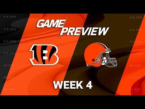 Video: Cincinnati Bengals vs. Cleveland Browns | Week 4 Game Preview | NFL