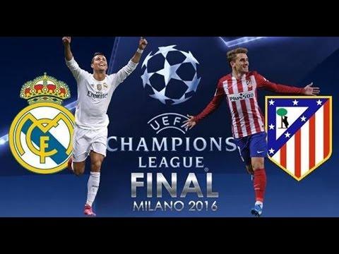 [HD] Real Madrid vs Atletico Madrid Final Champions League 28/05/2016 Fifa 16 FR 1080p60