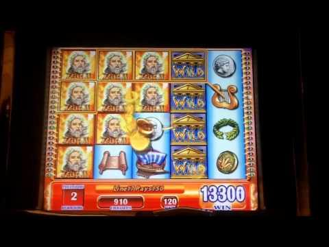 WMS Gaming – Super Hot Hot Respin Zeus II Slot Bonus ~ BIG WIN ~