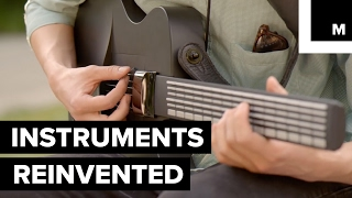 Magic Instruments let you skip taking expensive lessons and learn to play music with a simple app.READ MORE: http://mashable.com/FACEBOOK: https://www.facebook.com/mashable/TWITTER: https://twitter.com/mashableINSTAGRAM: https://www.instagram.com/mashable/