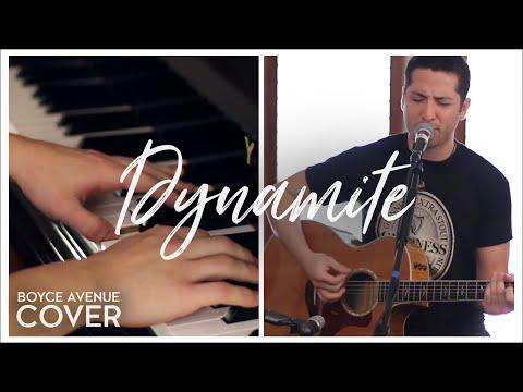 "Taio Cruz  ""Dynamite"" Cover by Boyce Avenue"