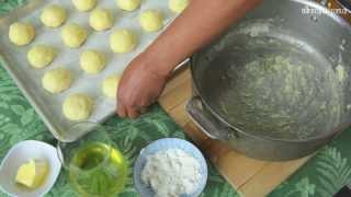 Pancitos de queso (Pao de queijo)