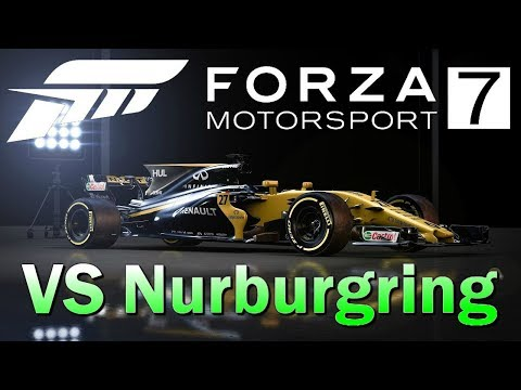 Forza 7 World Record Nurburgring Renault RS17 (Attempt)