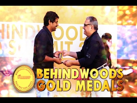 """Behindwoods Gold Medals - MADHIE - """"ITS A PLEASURE TO GET THIS AWARD""""- BW"""