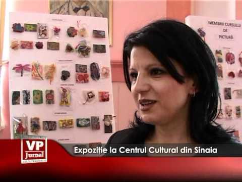 Expoziţie la Centrul Cultural din Sinaia