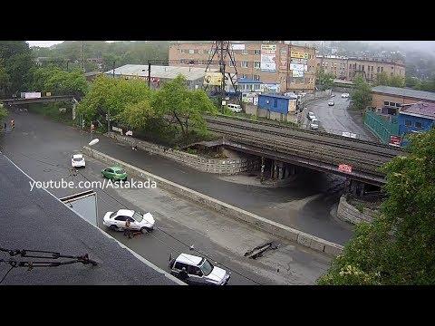 ДТП во Владивостоке на улице Фадеева