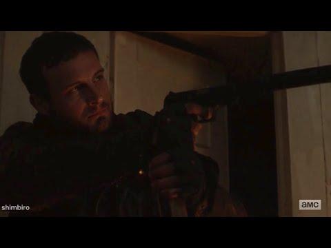 Huck VS Felix Fight Scenes 1x10 The Walking Dead World Beyond Season 1 Episode 10