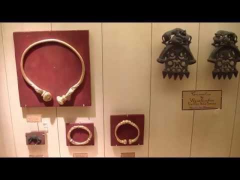 Musée archéologique de Saint Germain en Laye Les Gaulois.wmv