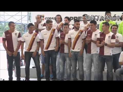 Presentacion del equipo Coras FC