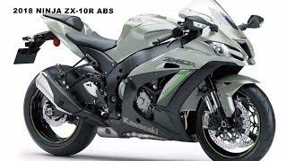9. First Look : 2018 Kawasaki NINJA ZX-10R ABS
