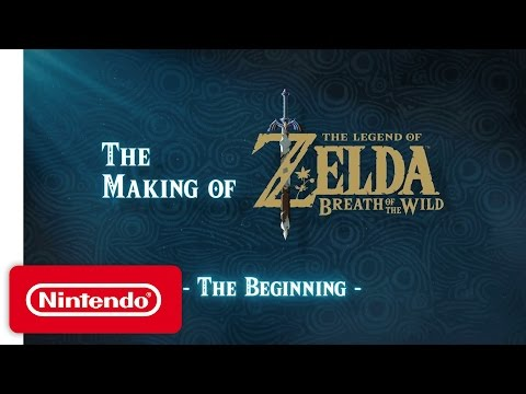 Making of - The Beginning de The Legend of Zelda : Breath of the Wild