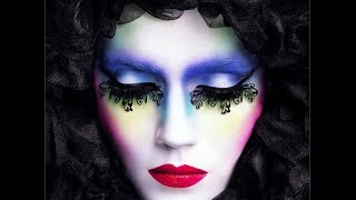 Carnival / Venetian Mask MakeUp Tutorial | Halloween / Fancy Dress - YouTube