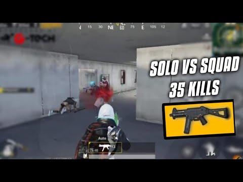 UMP9 only challenge | Solo vs Squad 35 kills | Predator pubg mobile