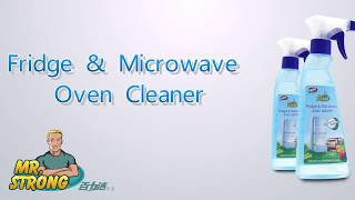 Mr.Strong Fridge&Microwave Oven Cleaner has a great effect to clean the stubborn stain on the kitchen ware,please watch the...