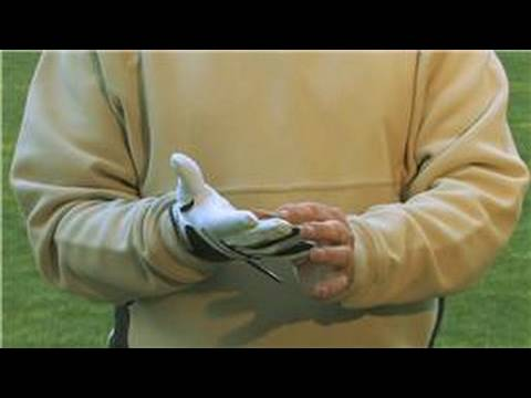 Golf Equipment : How to Fit a Golf Glove
