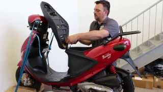 1. How to Install a Low Profile Seat for Buddy Scooter