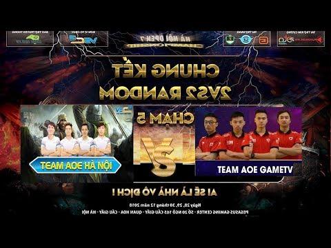 Trực tiếp Aoe - Hà Nội vs GameTV - Nhân sự Aoe Hà Nội thay đổi, chiến đấu vì danh dự Aoe - Thời lượng: 2:53:27.